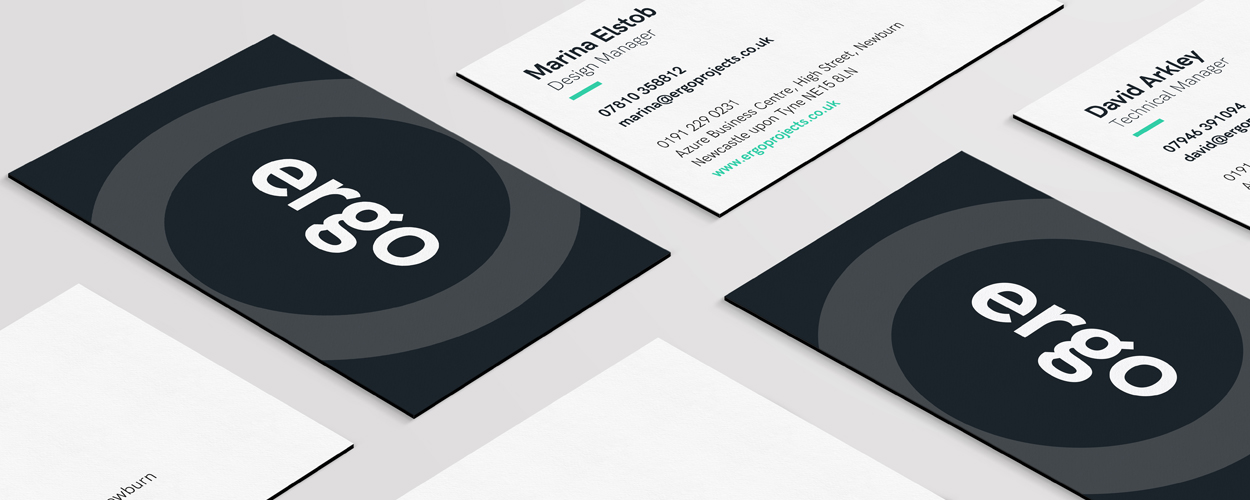 Ergo - Branding Stationery Design Newcastle upon Tyne