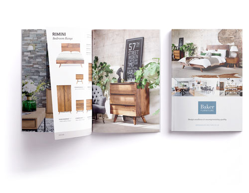 Baker Furniture Branding and photography