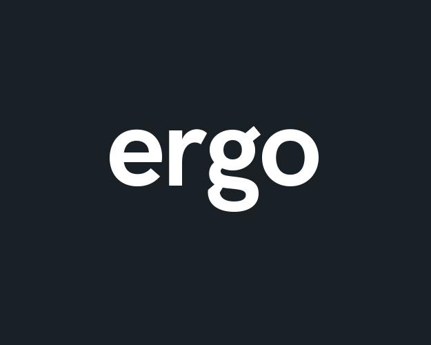 Ergo Logo Brand Design